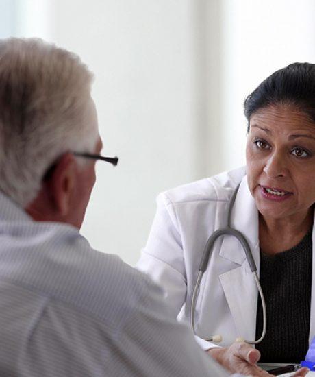 Medicos y sus pacientes